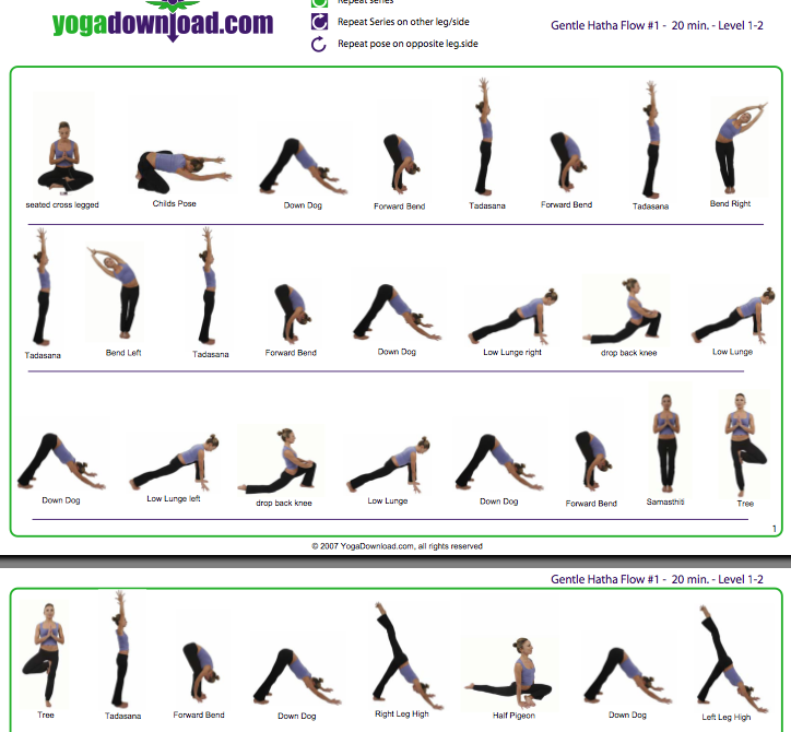 gentle flow yoga sequence | sport1stfuture org